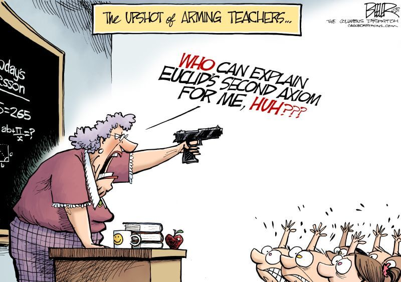 armed teachers paper Donald trump said saturday that had teachers been armed at umpqua community college in roseburg, oregon, the deadly shooting there this week would not have.