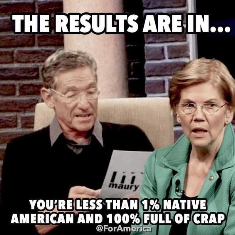 Funniest Anti Elizabeth Warren Memes Found On Twitter Today Advertisement Story Continues Below