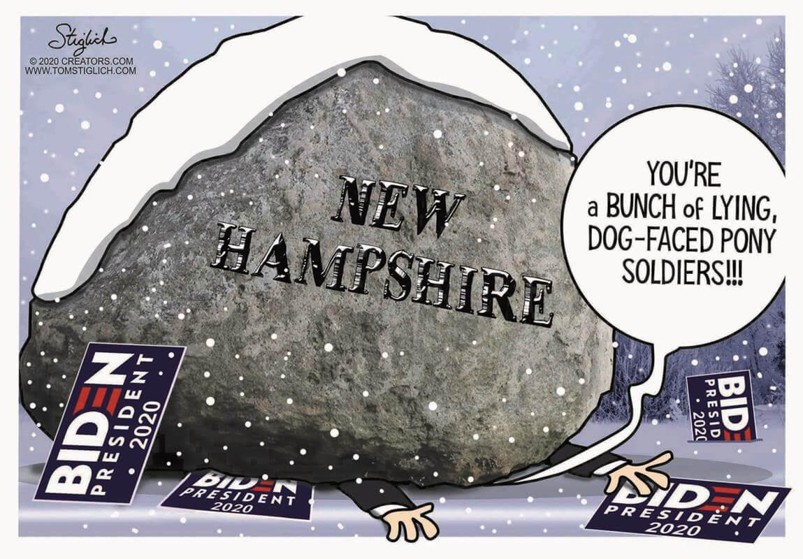 5 Hilarious Cartoons Show the Exact Status of Bernie Sanders 2020 Campaign